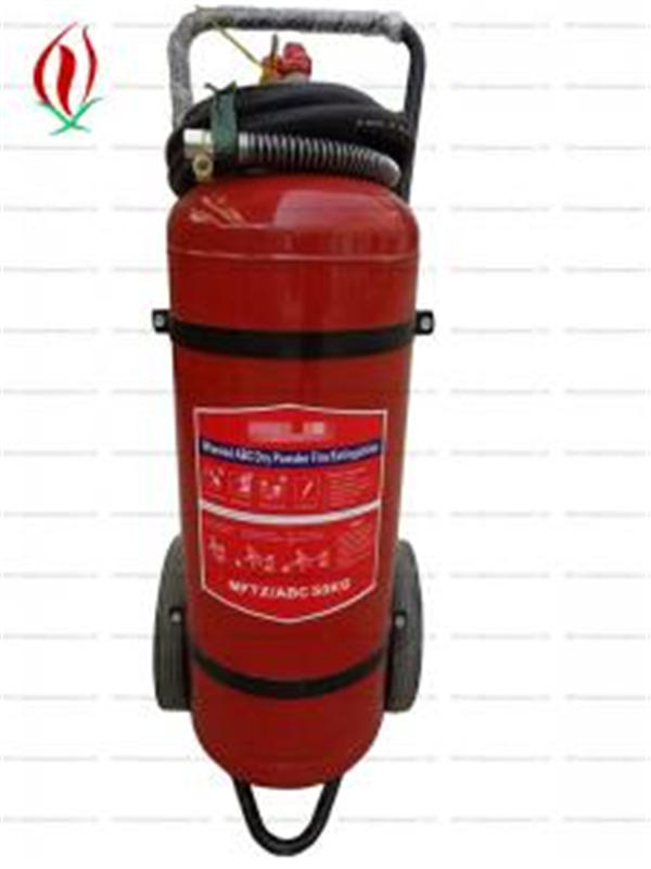 trolley dry powder fire extinguisher 50kg