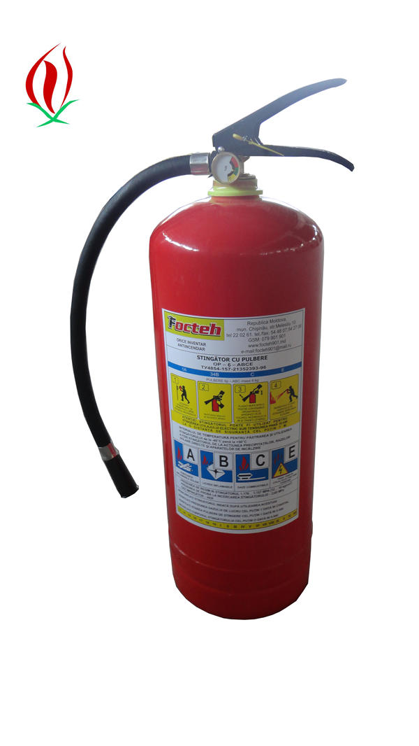 6kg DCP fire extinguisher