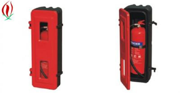 cabinet for fire extinguisher