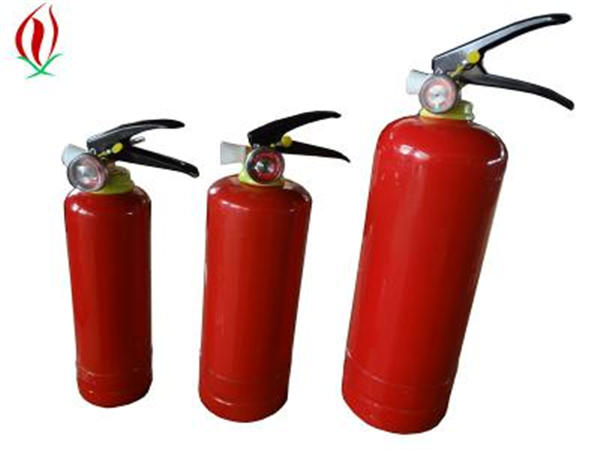 small dry powder fire extinguisher