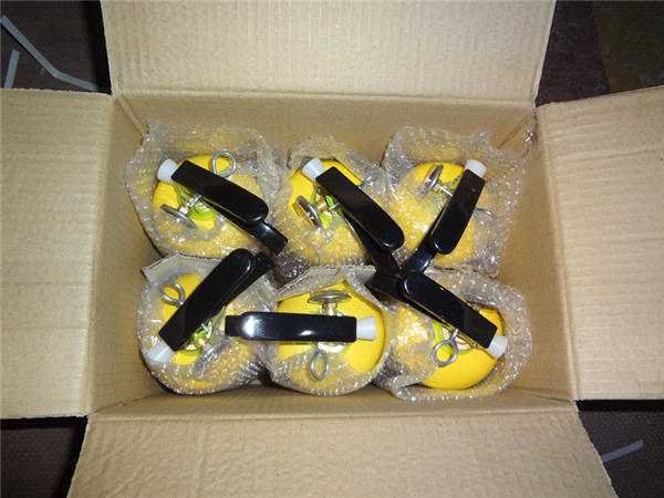 2kg yellow dry powder fire extinguisher